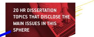 HR Dissertation Topics