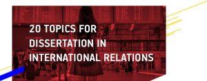 International Relations Thesis Topics
