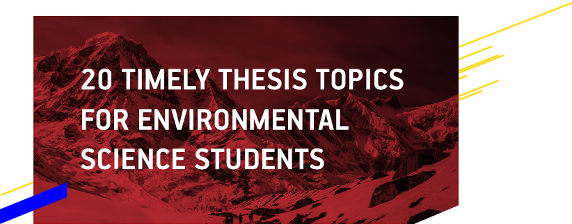 Dissertation environmental management